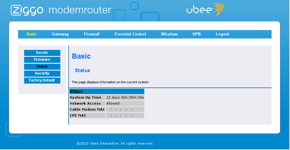 how to connect ubee wifi
